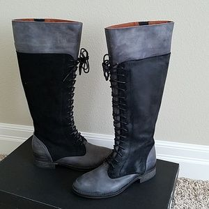 SixtySeven Leather Boots